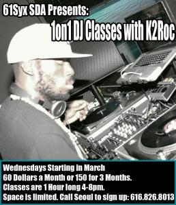 K2Roc DJ Classes
