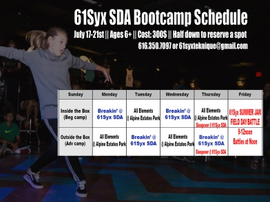 Bootcamp Schedule