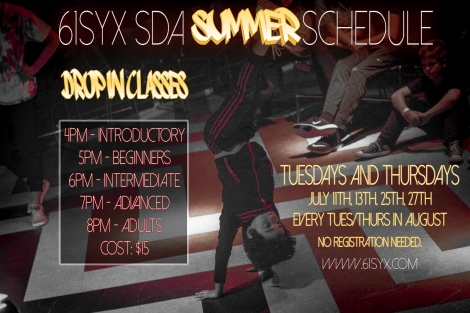 61Syx Summer Sched